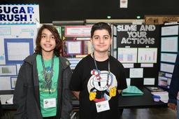 Quarry Lane Celebrates Science Fair Honors