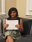 QLS Student Earns Top Merits in National Art & Writing Contest