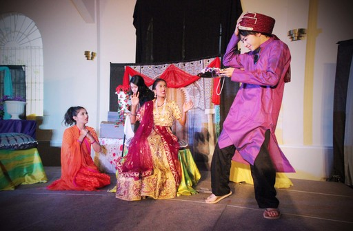 Quarry Lane Spring Theater Production: Aladdin Takes the Stage