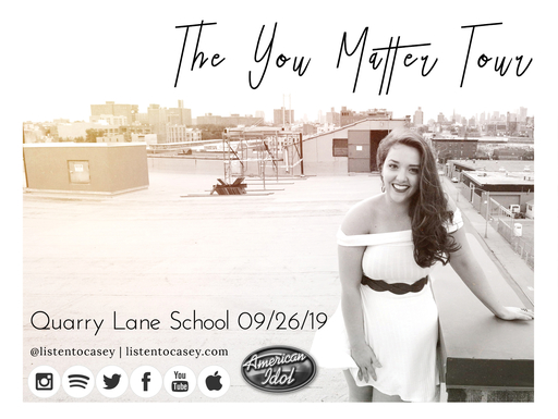 "Quarry Lane to Host ""You Matter"" Tour with Casey McQuillen"